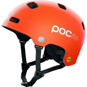 POC POCito Crane MIPS Helm Kinder orange